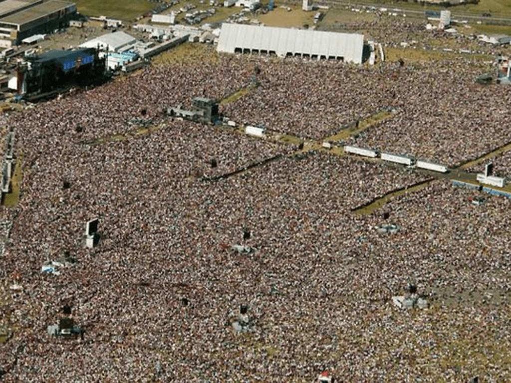The Rolling Stones el concierto de medio millón de espectadores