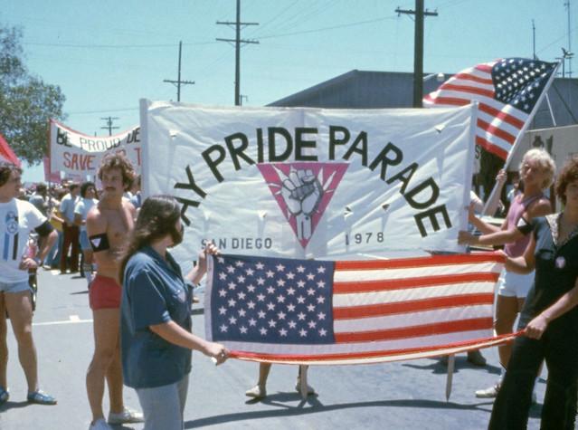 San Diego Gay Pride Day Parade, 1978