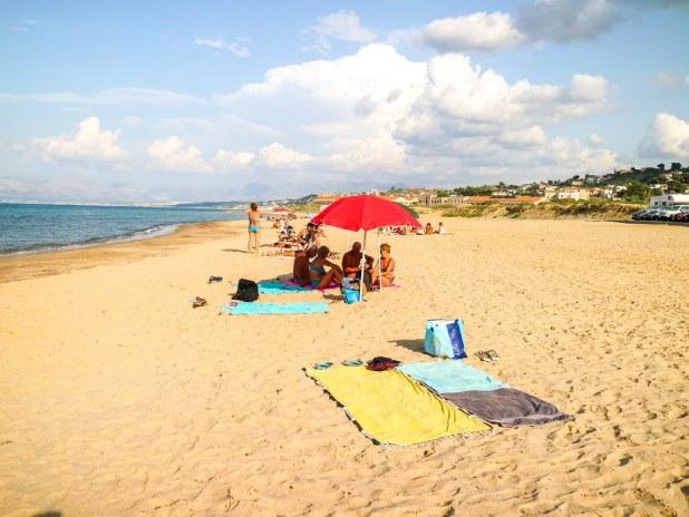 Una de las mejores playas de Sicilia esta en Castellammare del Golfo