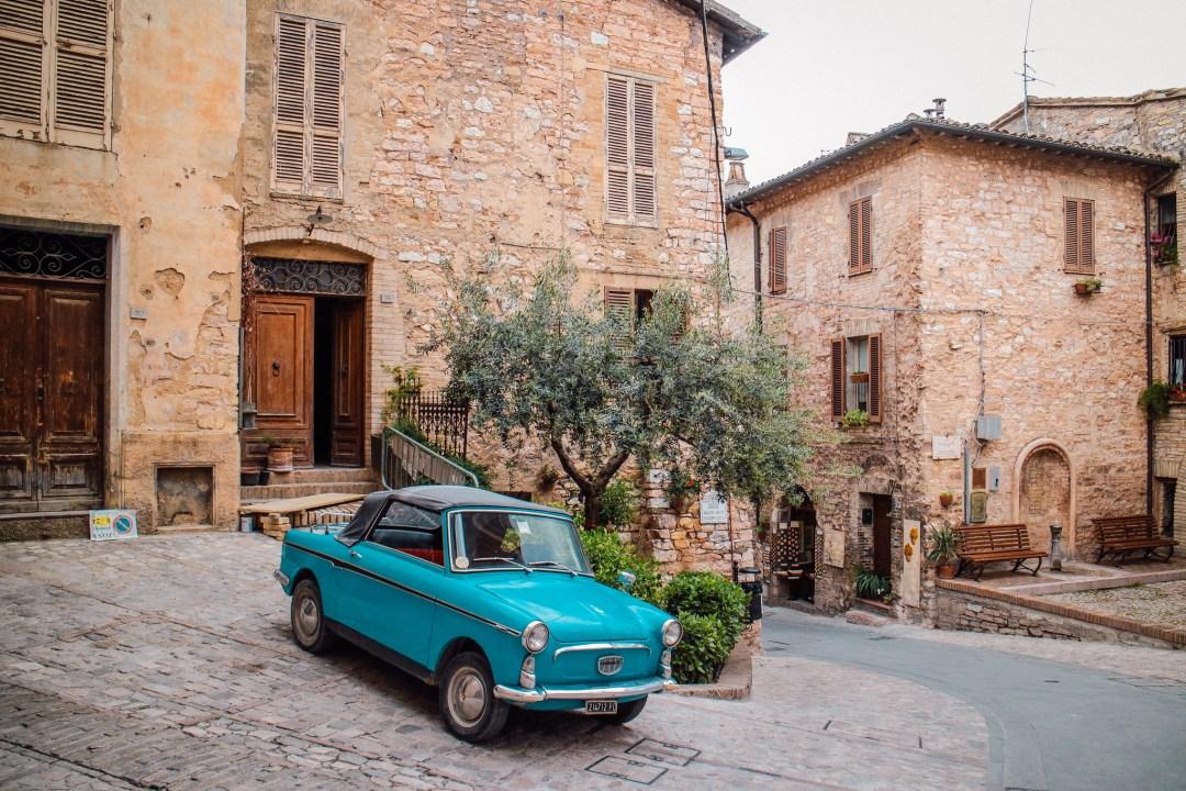 Spello, borgo fiorito dell'Umbria