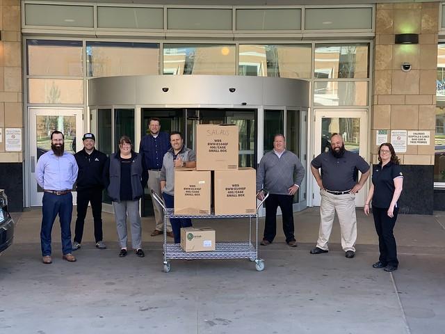 Buffalo Wild Wings Minneapolis Food Donations