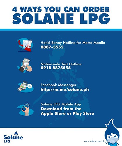 Solane LPG Order and Delivery
