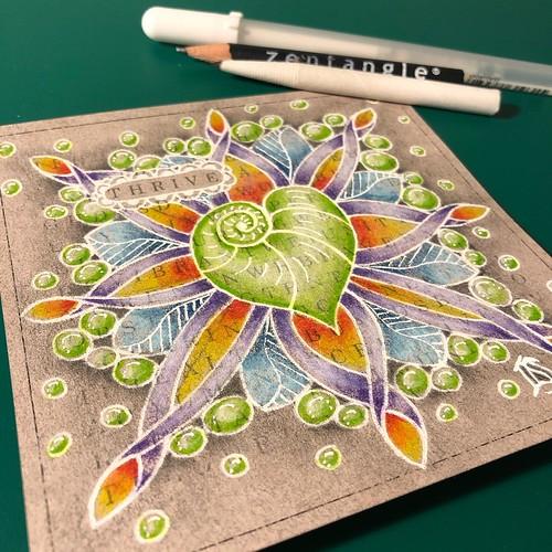 Unity Glow Tile by Laurel Storey, CZT