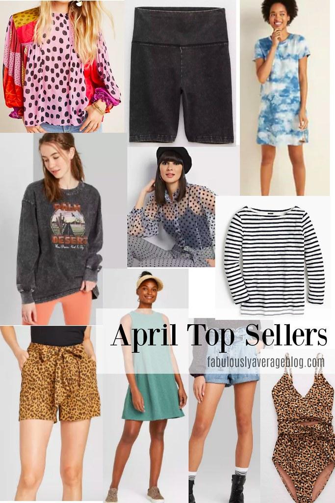 april top sellers