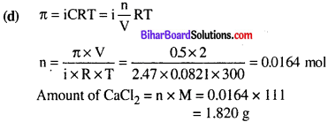 Bihar Board 12th Chemistry Objective Answers Chapter 2 Solutions 13