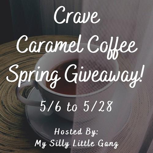 Spring Crave Caramel Coffee Giveaway @tworiversco @SilvieArmas