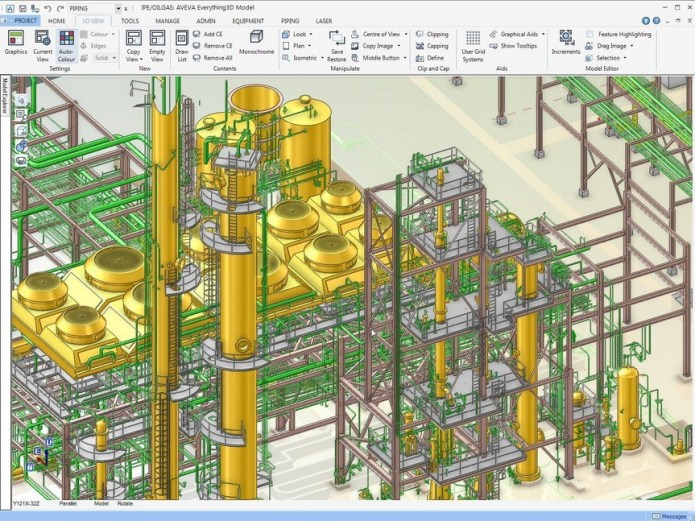 Working with AVEVA Everything3D 2.1.0.3 full license