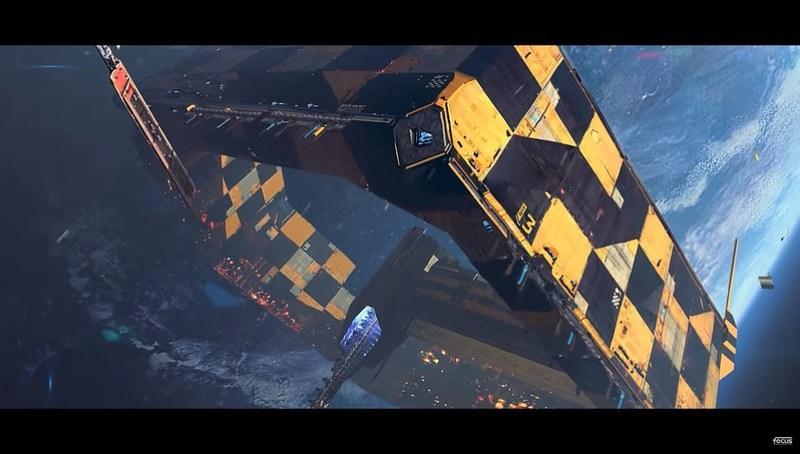 Корабельний розломник Hardspace - космічна станція