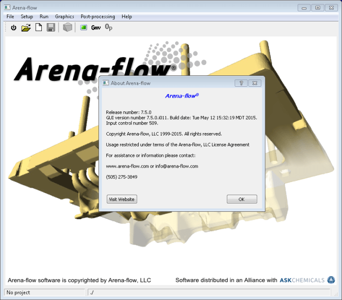 CPFD Arena Flow 7.5.0 x64 full license forever