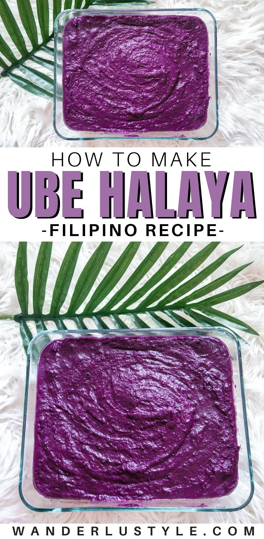 EASY UBE HALAYA RECIPE USING POWDERED PURPLE YAM - ube halaya,ube,filipino ube,filipino ube halaya,ube halaya recipe,ube powder,ube powder recipe,ube halaya using ube powder,filipino dessert,filipino snack,easy ube halaya,how to store ube halaya,how to store ube,ube recipe,best ube recipe,how to make ube,how to make ube halaya,asian dessert,ube dessert,what is ube,ube jam,how to make ube jam,best ube halaya,best ube jam,filipino cooking,filipino recipe,filipino food,filipino,filipino foodie, hawaii foodie, oahu foodie, hawaii filipino food | Wanderlustyle.com