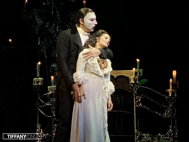 The Phantom of the Opera Phantom and Christine