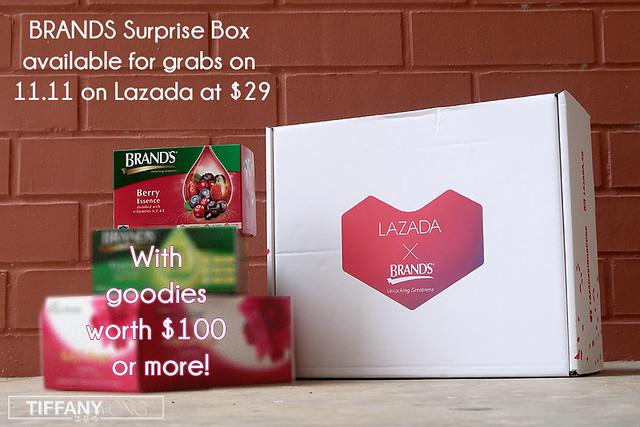 Lazada x Brands 11.11 Sale Surprise Box