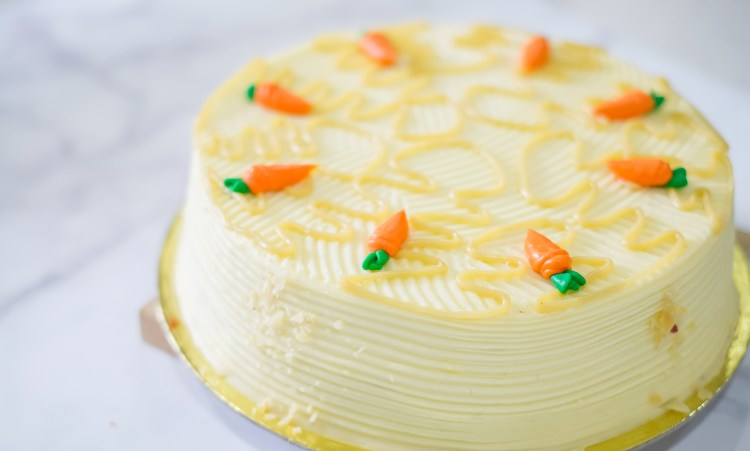 Whole Carrot Cake (₱860)