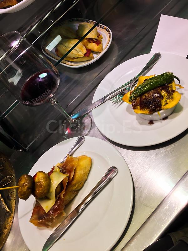· Comer pintxos en Pamplona · Gastronomía de Navarra - ClickTrip