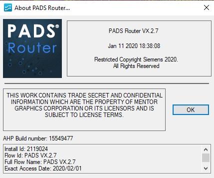 PADS VX2.7 x86 x64 full license
