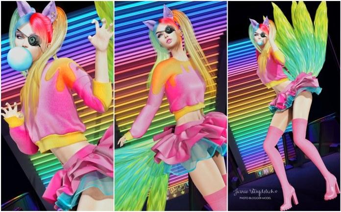 LOTD 1592 - Rainbow Kitsune
