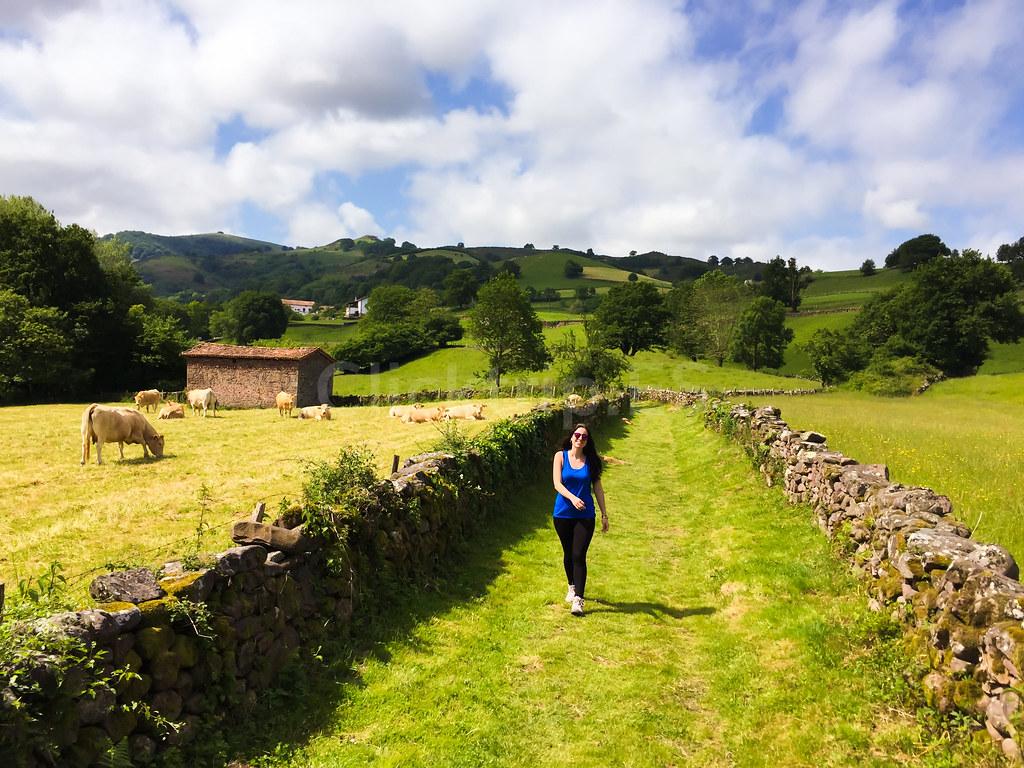 Ruta para llegar a la cascada Xorroxin · Senderismo por Navarra - ClickTrip