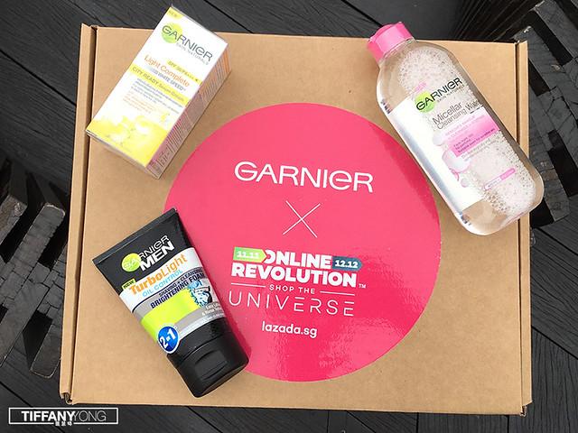 Lazada x Garnier Surprise Box 2017