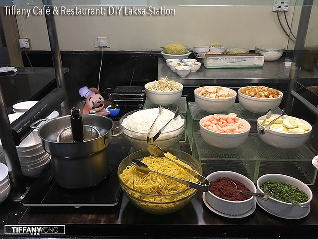 Tiffany Cafe and Restaurant DIY Laksa