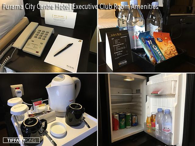 Furama City Centre Hotel Executive Club Room Amenities
