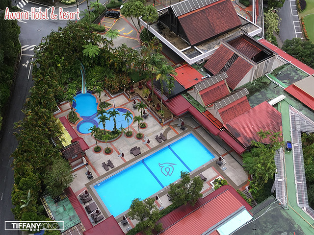 Awana Hotel and Resort Top view
