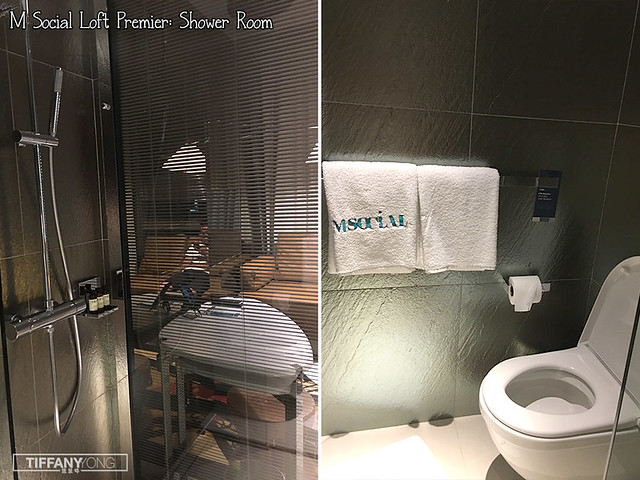 m-social-staycation-premier-loft-shower-room