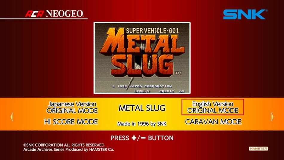GAM metal slug ACA