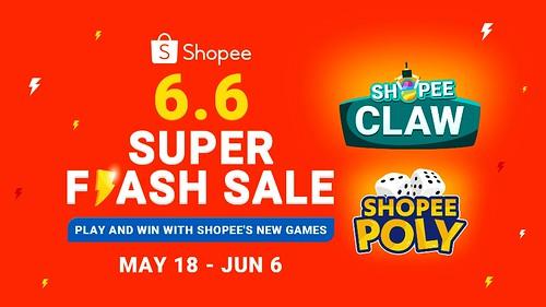 Shopee 6.6 Super Flash Sale