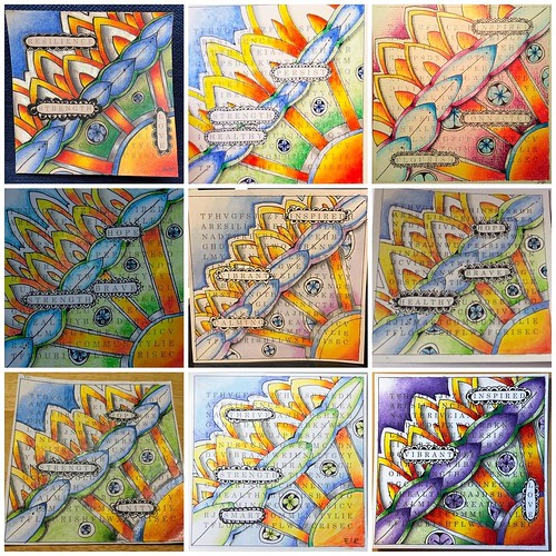 """Zentangle Unity Tile"" class tiles"
