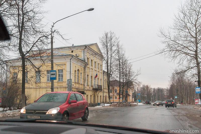 Советский проспект, Вытегра