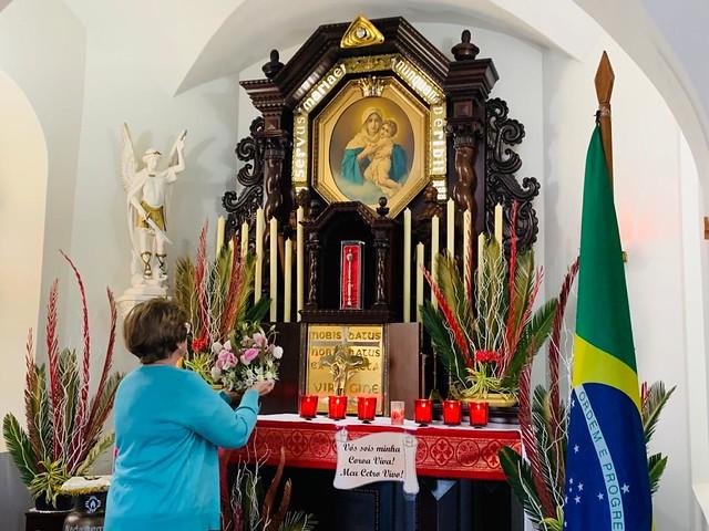Coroação na Ermida das Pioneiras em Jacarezinho - 31/05/2020