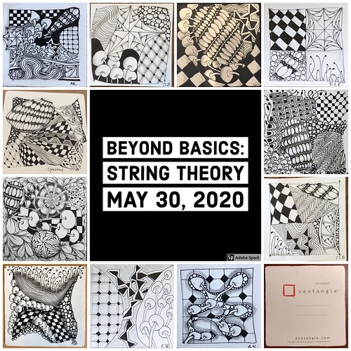 """Beyond Basics: String Theory"" class tiles"