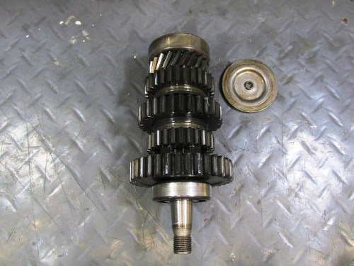 Output Shaft with Front Bearing Oil Baffle