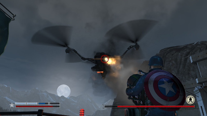 Captain America: Supersoldat - Helokampf