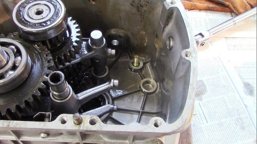 Shift Cam Mechanism Removed