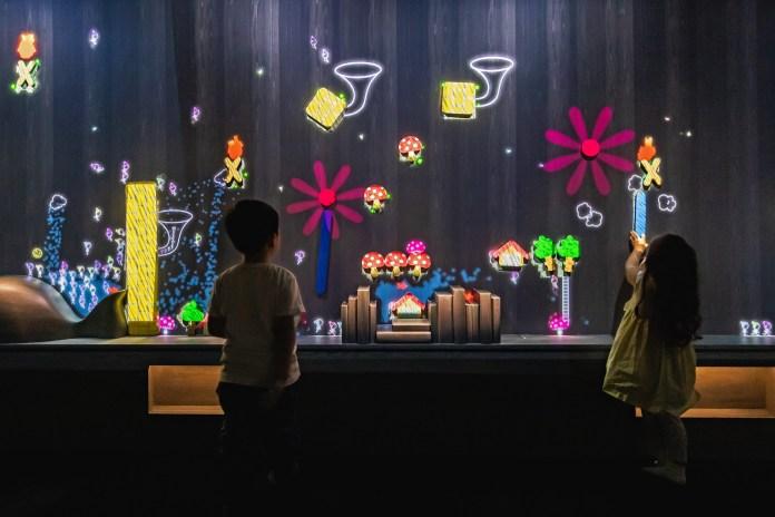 澳門 teamLab-A Musical Wall where Little People Live_macao_01