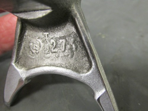 "Output Shaft ""Top"" Marking (S)274"