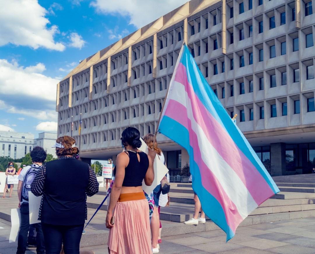 Photos: Protest for Trans Rights, Washington, DC USA