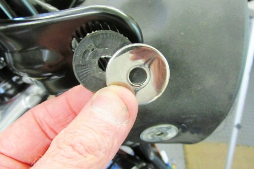 Headlight Right Side, Outside Hardware Detail