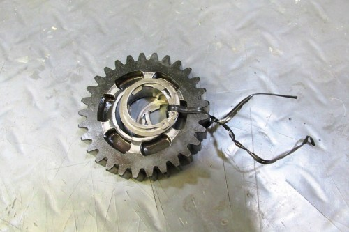 Output Shaft 2nd Gear Parts Wrapped Together In Order Removed
