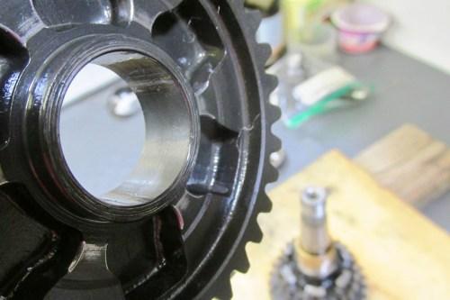 Output Shaft 1st Gear Detail