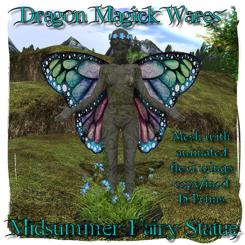 Midsummer Fairy Statue