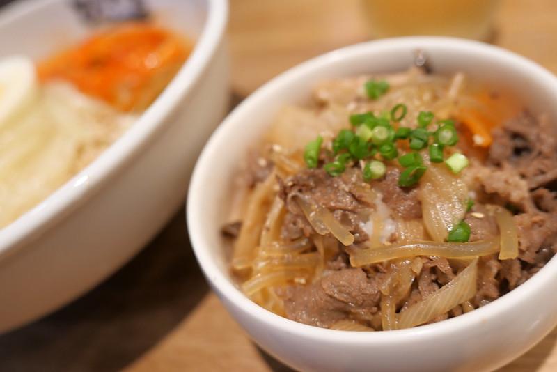 盛岡冷麺とちょいプラ韓国めし ミニプルコギ丼