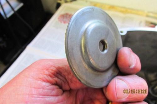 Output Shaft Oil Baffle-Side Facing Case