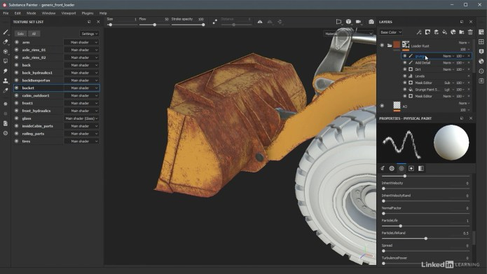 Learning Substance Painter 2018 by videos
