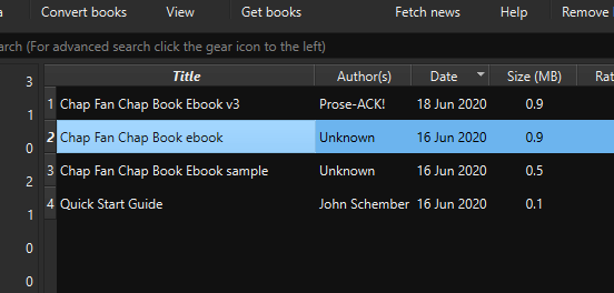 Highlighted book calibre