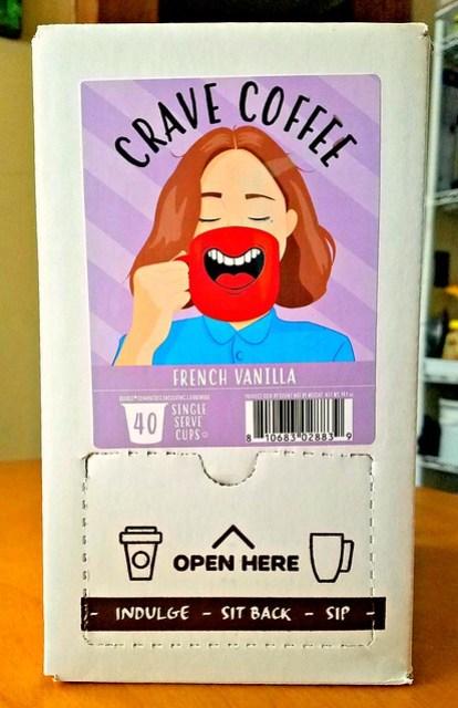 Crave French Vanilla Coffee #Keto @tworiversco #MySillyLittleGang