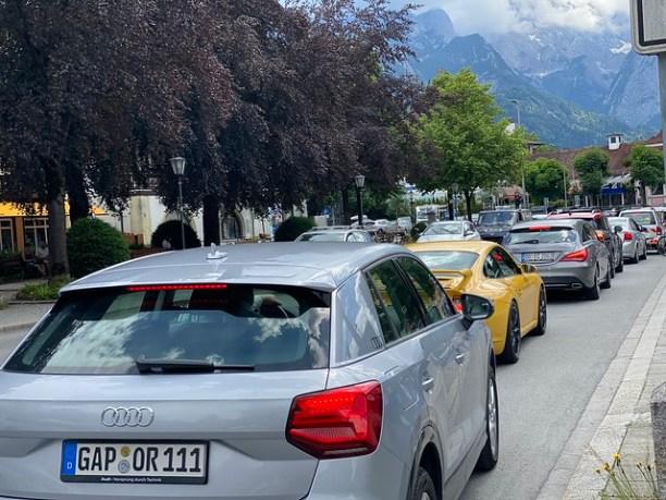 Autowahnsinn Garmisch