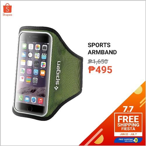 Shopee 7.7 Free Shipping Fiesta Sports Armband