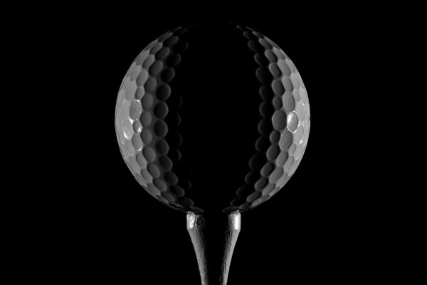 Rimlit Golfball